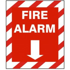 fire alarm arrow