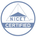 NICET certifiedmarkdecal