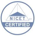 NICET certifiedmarkdecal
