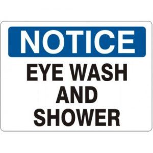 eyewash showr