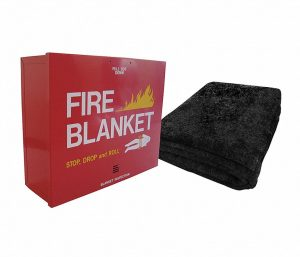 fire blanket & cab