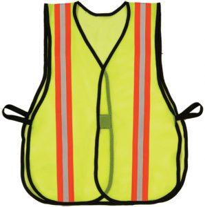 yellow vest w refl non ansi
