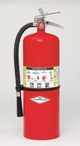 20 lb ABC Fire Extinguisher Image