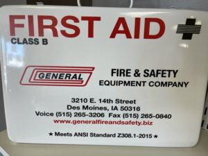 Class B first aid kit for vehiclies or small job sites Image