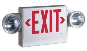 Combo Emergency/Exit light Image