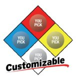 704-pl - NFPA 704 Sign, 10in Plastic - Safehouse Signs Image